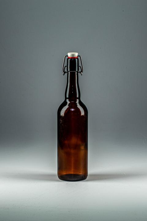 Бутылка пивная бугель 0,75 л коричневая