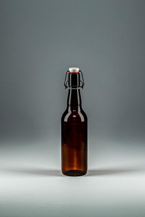 Бутылка пивная бугель 0,5 л коричневая