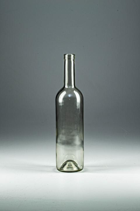 Бутылка винная  1 литр. Стеклянная бутыль для напитков 1000 мл