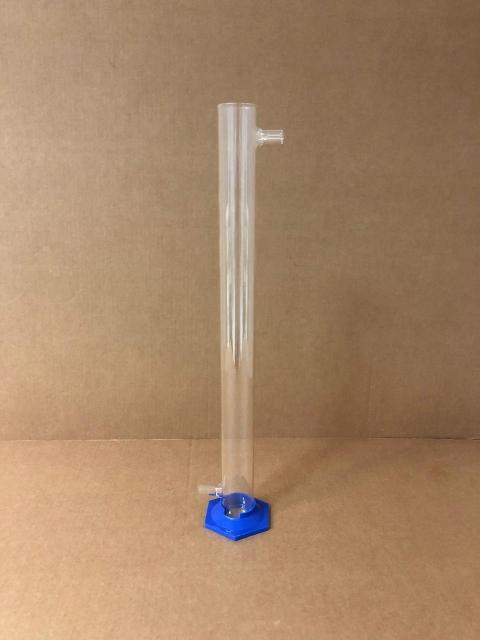 Колонка угольная H-335 EximLab (стекло). Колонна для фильтрации самогона, виски, коньяка