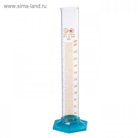 Цилиндр измерительный лабораторный 250 мл.