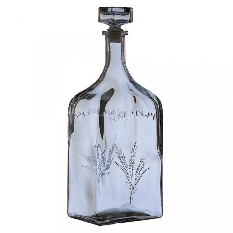 """Бутыль - 3000 мл. """"Магарыч"""". Стеклянная бутылка для вина 3л"""