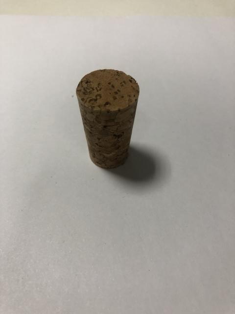 Пробка натуральная коническая Ø 18x23 мм агломерированная