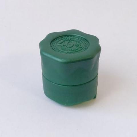 """Пробка """"Абсолют зелёная"""" полимерная с фиксатором"""