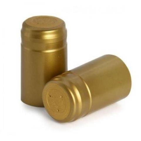 Колпачки термоусадочные ЗОЛОТЫЕ капсула ( 100 шт. )