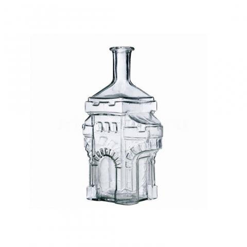 """Бутыль """"Вежа замок"""" 1,5л. Стеклянная бутылка для вина 1500мл"""