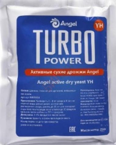 Активные сухие дрожжи Angel YH Active Dry Yeast 250гр.