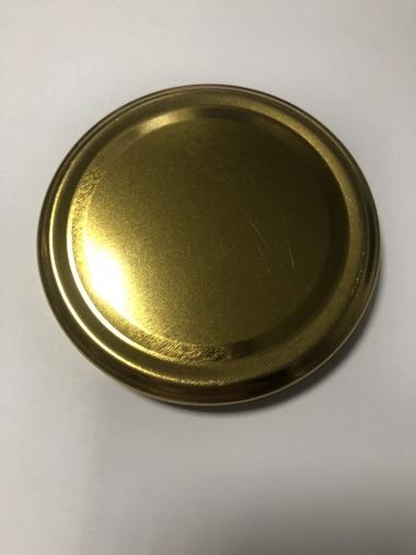 Крышка Твист-офф 66 (магол) золотая