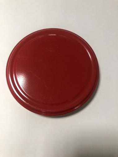 Крышка Твист-офф 58 (магол) красная