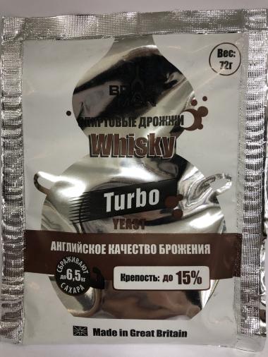Дрожжи спиртовые Турбо/Виски 72 г EAN