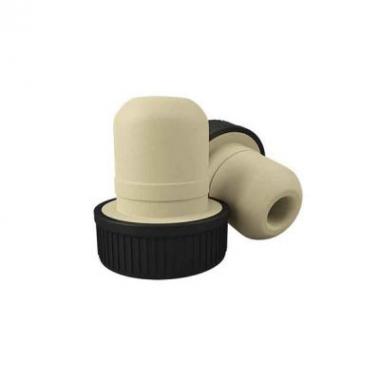 Пробка Т-образная с черной шляпкой  полимерная цилиндрическая 19мм.