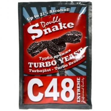 Турбо дрожжи DoubleSnake C48 exp. 04.2023